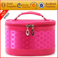 High quality zipper make up bag for womens