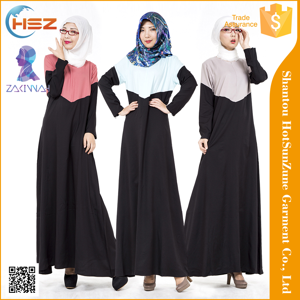 Zakiyyah-MD703 Abaya hijab dress morrocan kaftan new design malaysia muslim dress abaya turkey
