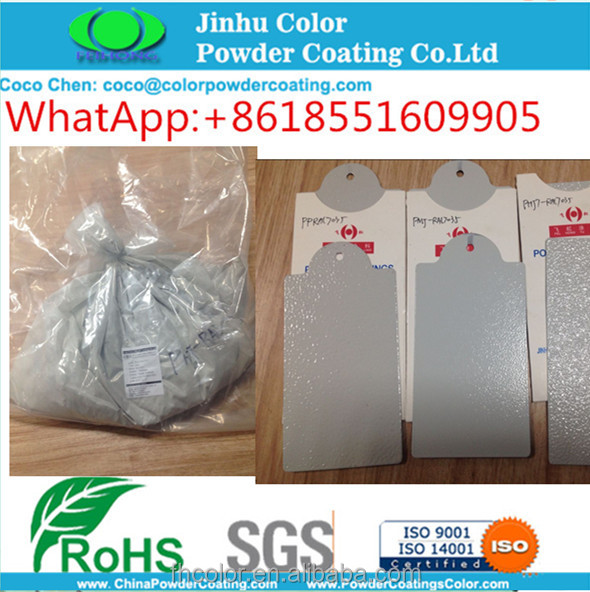 Electrostatic grey gray Wrinkle Powder Coating Paint