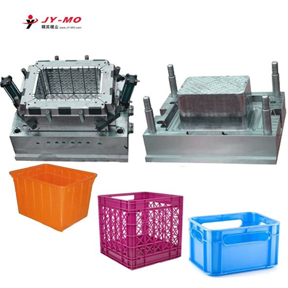 Factory directly sales quality assurance beer and fruit crate plastic injection mould