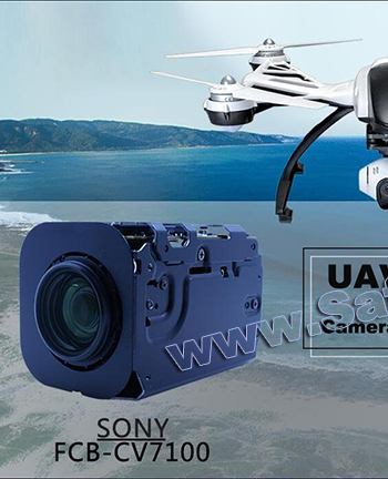 SONY FCB-EV7100 & FCB-CV7100 camera SDI HD Original Sony 10X Shadowless UAV Camera