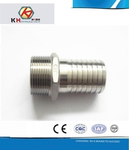 stainless steel threaded hose barb nipple fitting