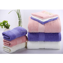 High Quality American Canada Size Walmart Hot-Sale Solid Color Long Staple Thick Terry Cotton Bath Towel 28*56