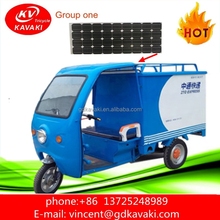 2018 best popular express delivery vehicle three wheel cabin electric tricycle for sale