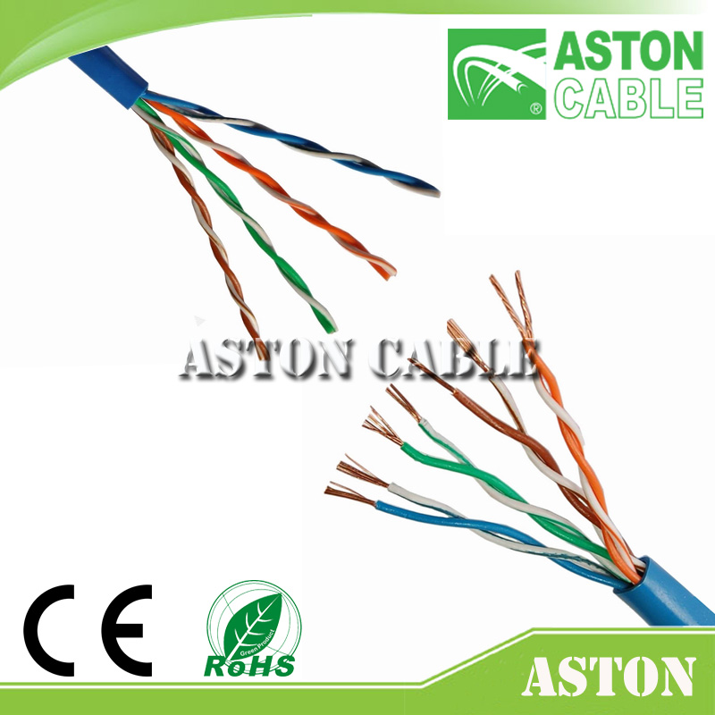 Aston Martin Cable Factory 305M Box UTP Cat5e Lan Cable Supper better than Luhua& Fobelec