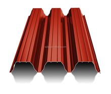 High quality metal corrugated sheet roof 25 microns color roof T135