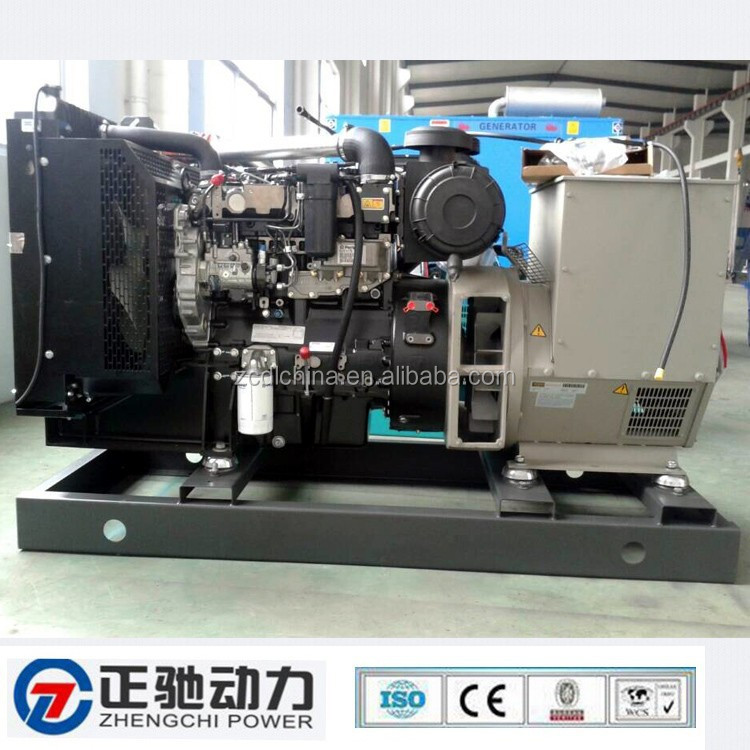 Cleaner, safer and quieter 20kva diesel generator 404d-22g with Perkins engine and soundproof canopy
