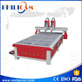 China cnc router FLDM 1325 two heads woodworking machine