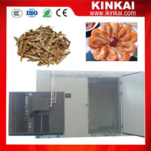 KINKAI heat pump Hot air fish dryer /seafood dehydrator with trays /shrimp drying machine
