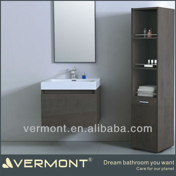 mirrors Wood Wall Mounted Bathroom Vanity