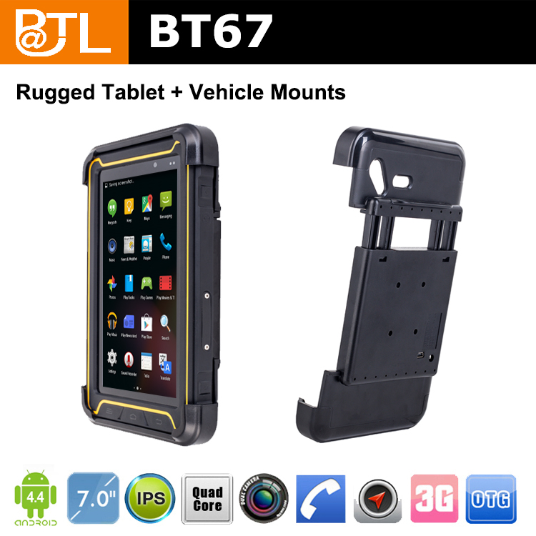 BATL BT67 YL2650 waterproof IP67 vehicle tablet , Truck Mount Mobile Computers distributor