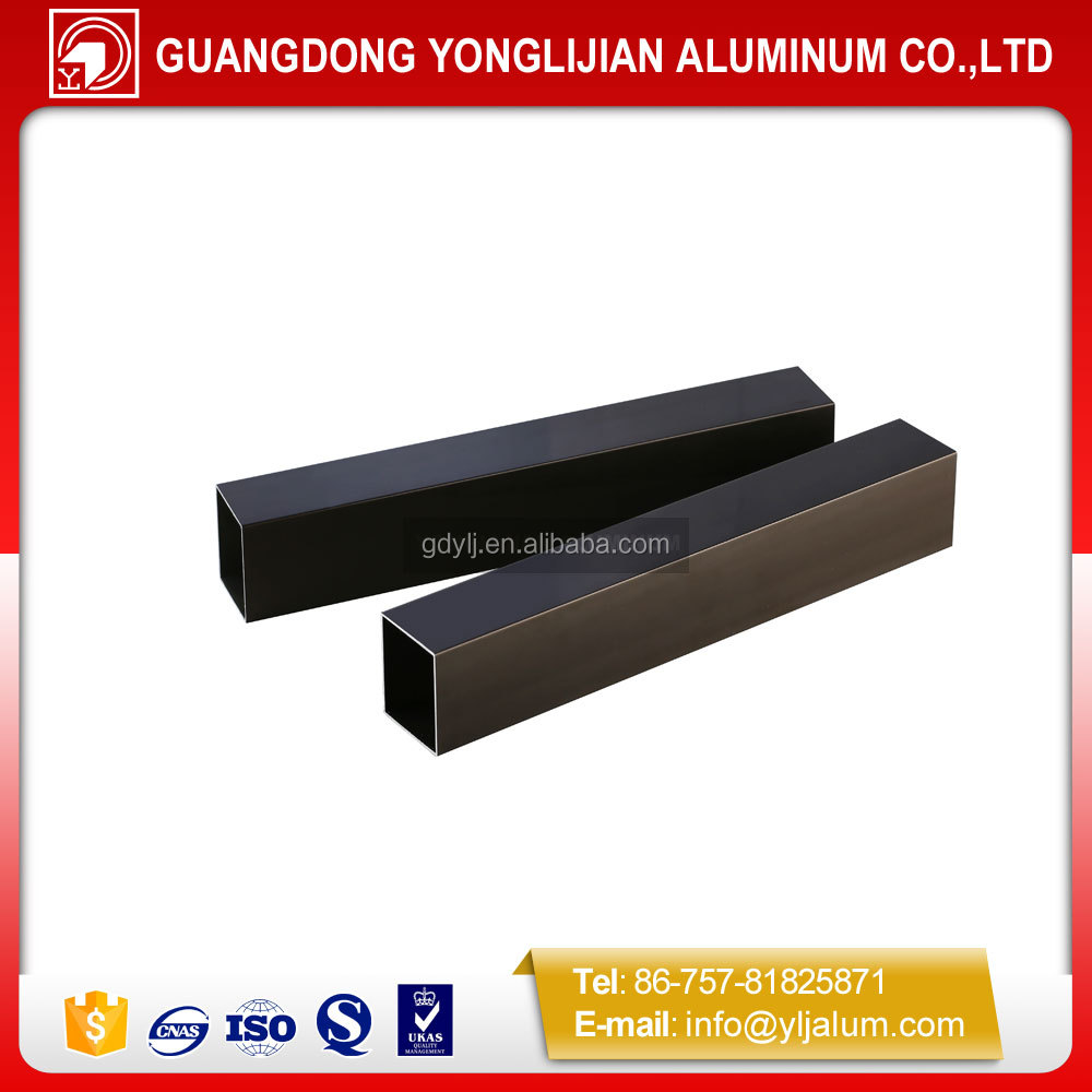 Aluminium extrusion square hollow section tube buy