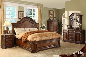 New Style Roman Style Bedroom Sets Furniture With Night Stand