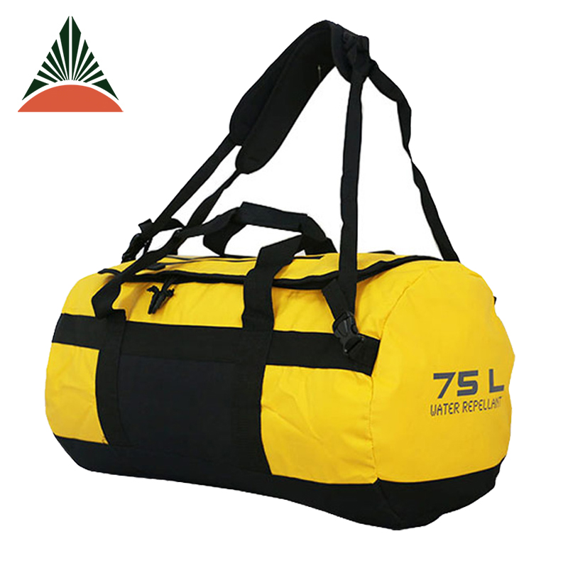 Durable 25L Large Waterproof Tarpaulin PVC Duffel Travel Sport Bag