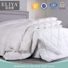 ELIYA cotton hotel bed decorative duvet top sheet white,white duvet covers for hotels