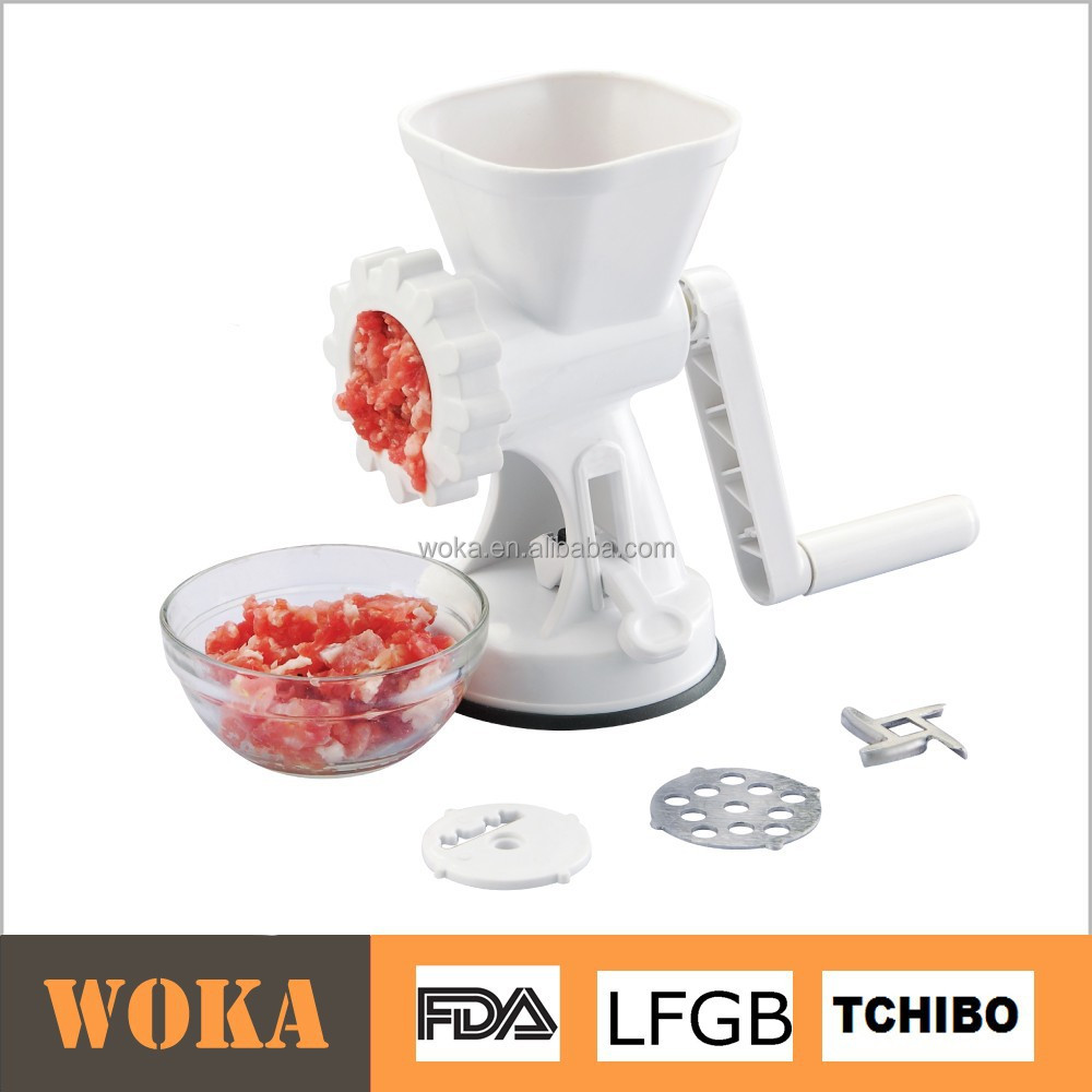Hand crank meat grinder manual meat mincer