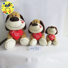 Different types of soft best made toys international Dog plush toys