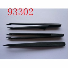 Antistatic mini plastic slant tip blackhead tweezer