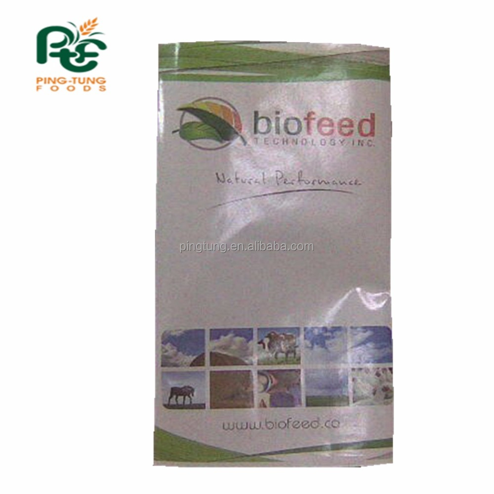 Waterproof coating glossy paper for bio pet feed use