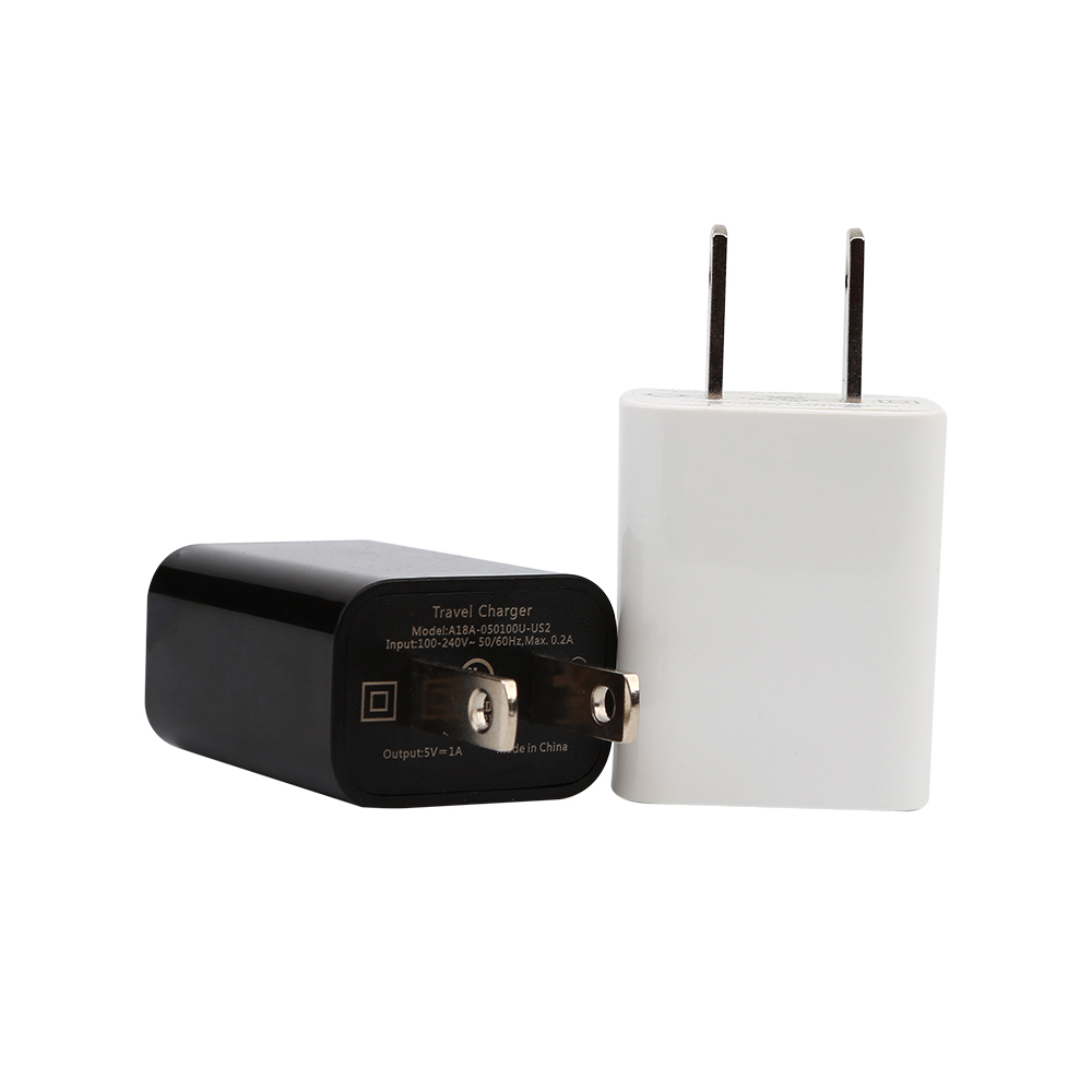 UL Listed US Plug 5V 1A USB Power Adapter