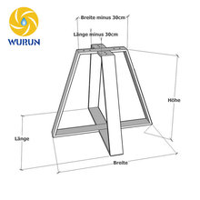 High Quality Free Drawing Black Iron Metal Table Base For Sale
