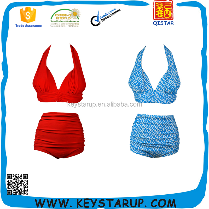 Fast Delivery Hot Sale Bikini Style Sexy Girls Two Pieces Swimwear