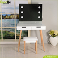 Wholesale makeup table with lightness adjustable made in china