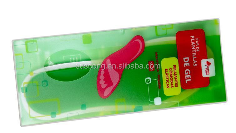 High elastic PU gel one size fit all insole with Activated antimicrobial agent