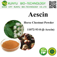 Pure Natural Plant Extracts UV40% Horse Chestnut Powder