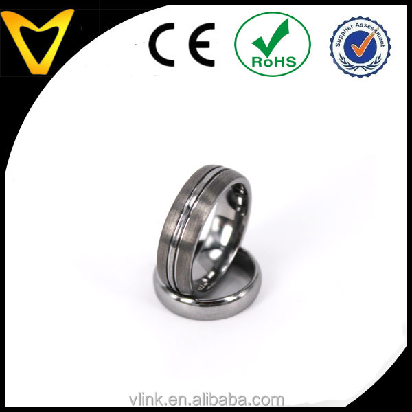 Design your own style finger ring DIY tungsten wedding ring custom ring
