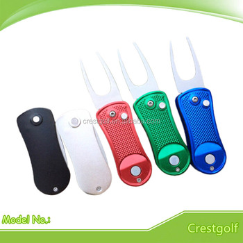 Bulk Blank Golf Divot Repair Tool with Ball Marker