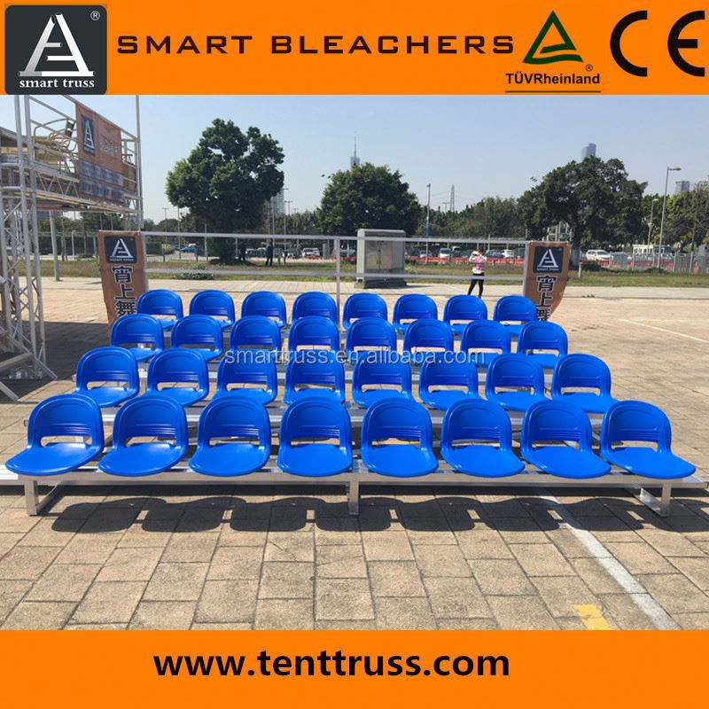 Outdoor / indoor portable bleachers for sale
