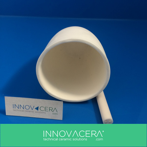 Alumina Ceramic Melting Pot Crucible/INNOVACERA