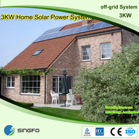 2016 Hot Sale 3kw Portable Home