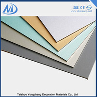 Alucobond aluminium composite panel wall outdoor sign board material