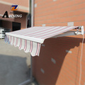 Electric or manual operate aluminum retractable garden awning fabric