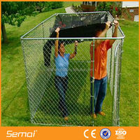 Online shopping Galvanized Portable chain link dog kennel lowes