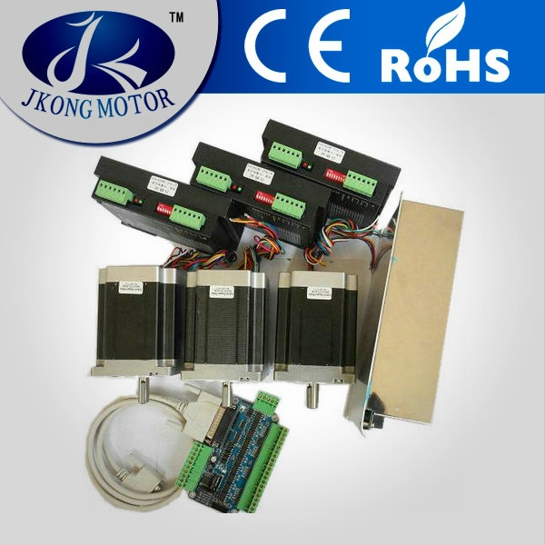 3 axis cnc router kits with stepper motor breakout board for 3 axis servo motor kit