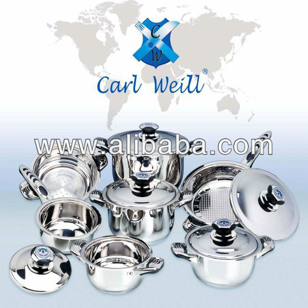 12 Piece Carl Weill Cookware Set