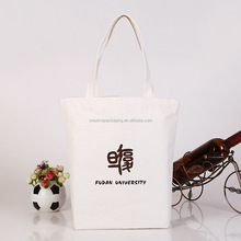 Wholesale cheap cotton shopping bag with logo