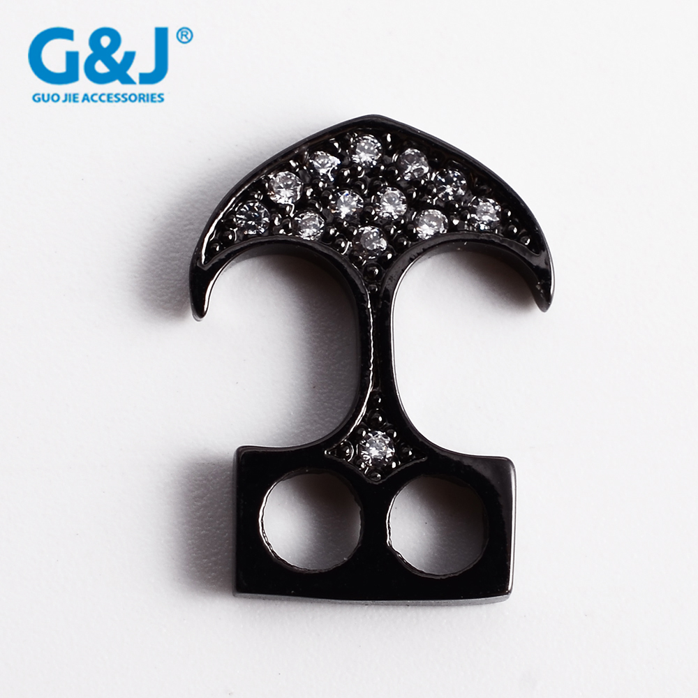 Guojie brand good quality fashion design wholesale high quality micro pave CZ necklace fashion pendant