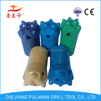 36mm 4,5,6,7,8 buttons 7/11/12 degree tapered plastic drill bit case