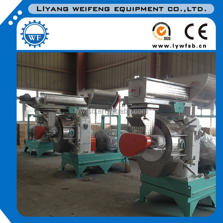 WF series high quality overhead beech wood pelleter, lime wood pellet machine