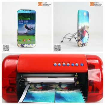 Phone case printing machine for DIY durable extremely colors phone cases