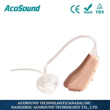 used hearing aid Acosound 821OF open fit hearing amplifier deaf equipment