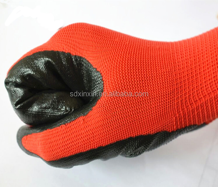 wholesale safeguard safety latex coated heat resistant working <strong>gloves</strong>