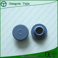 20-B2 20mm clear glass rubber stopper seals for injection bottles