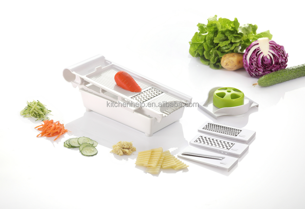 New product china wholesale plastic vegetable slicer/Multifunctional vegetable processor