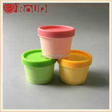 100g plastic jars empty plastic jars for cosmetic products
