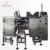 Premade standup zipper ziplock pouch doypack packaging machine sauce paste piston liquid fill packing line system solution